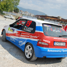 Rally car decals